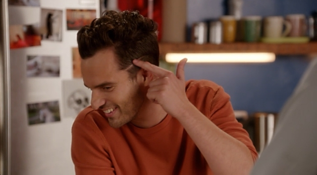 Nick Miller Haircut